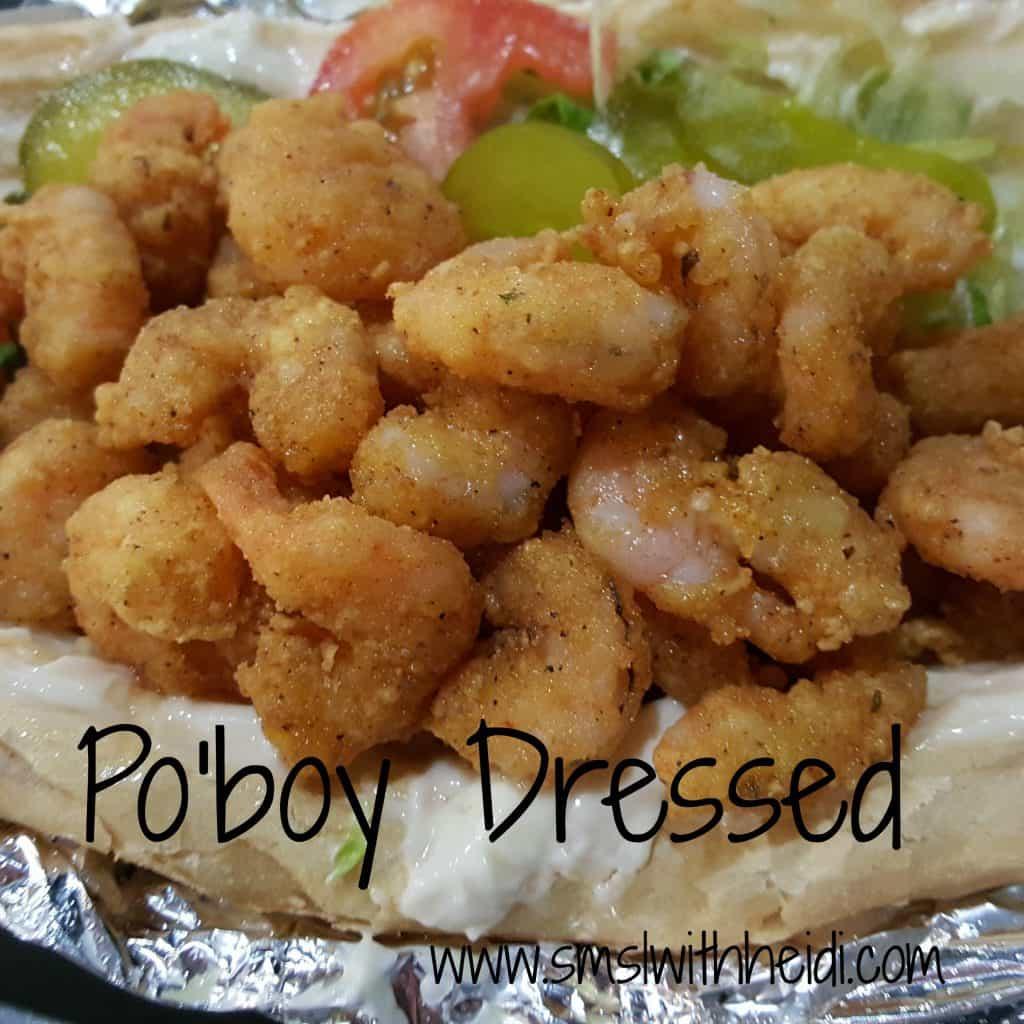 Po Boy Dressed