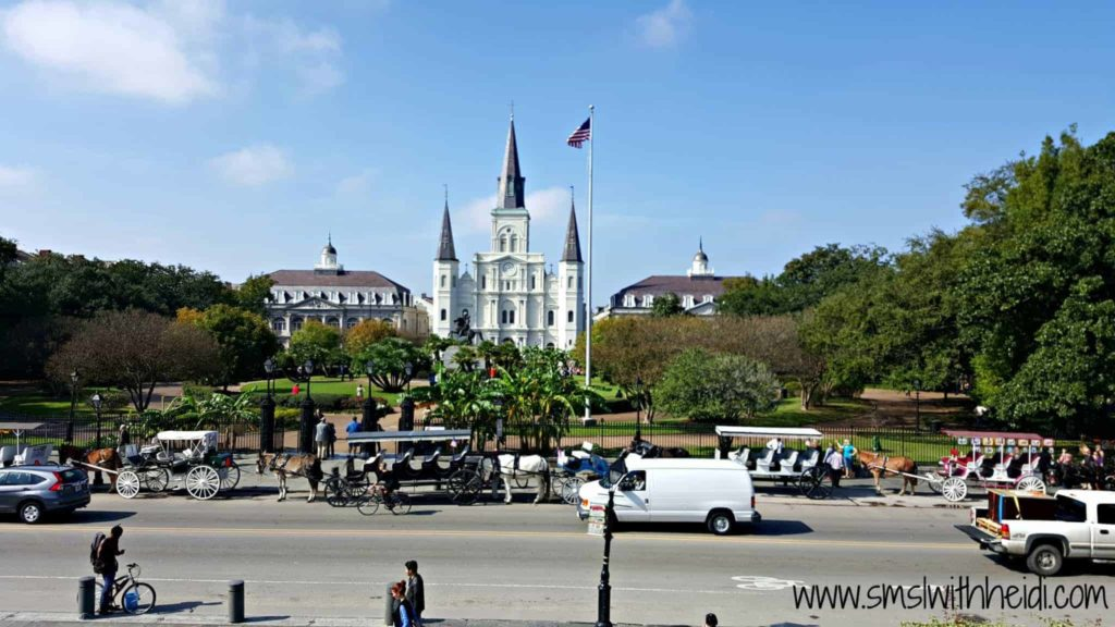 Saint Louis Cathedral Big Church in French Quarter