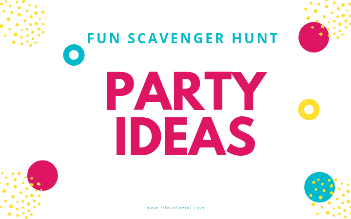 Selfies are all the rage and these Selfie Scavenger hunts will allow you to have fun take selfies and make memories all at the same time. #selfies #memories #partyideas