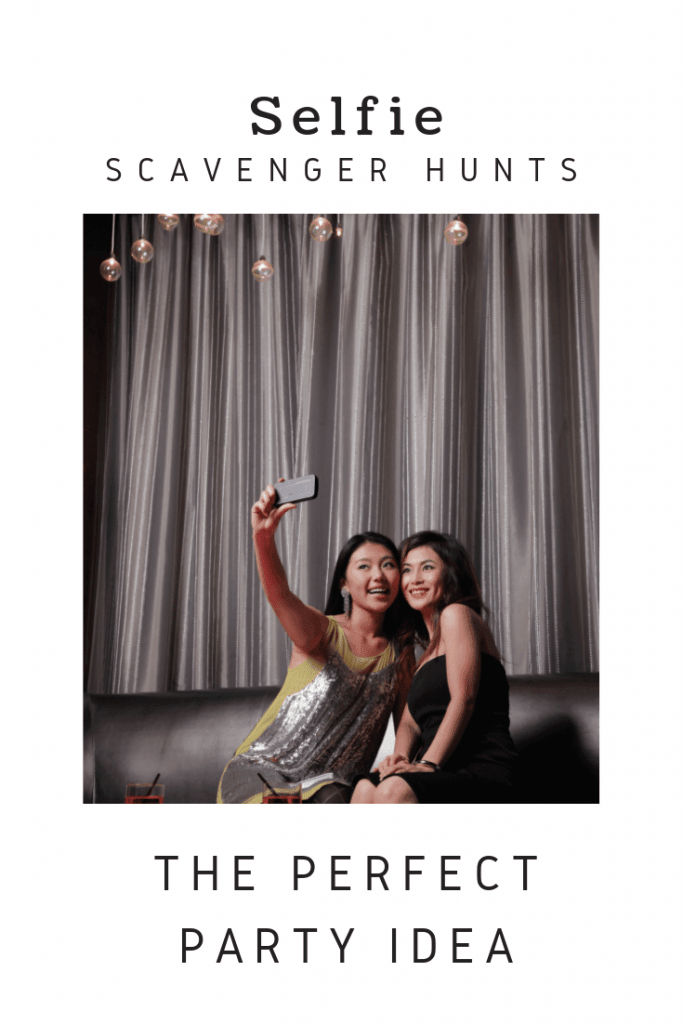 Use this Selfie Scavenger Hunt list to help you host an epic teen party
