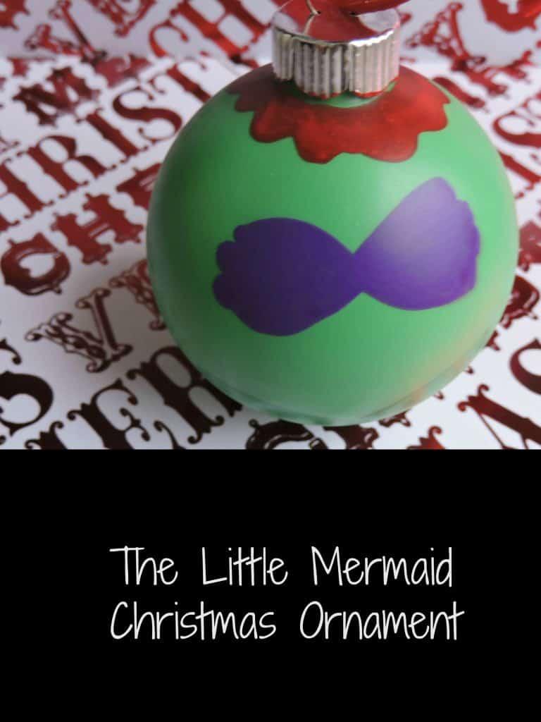 The Little Mermaid Christmas Ornament