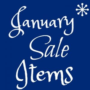 January Sales Items