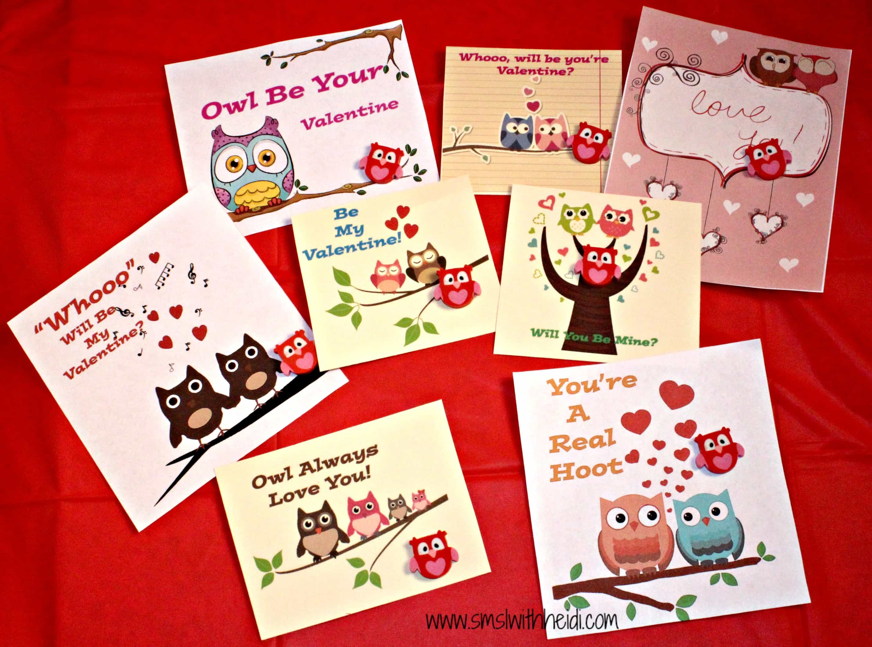 Owl Valentines Day Cards – Owl Valentines Day Cards