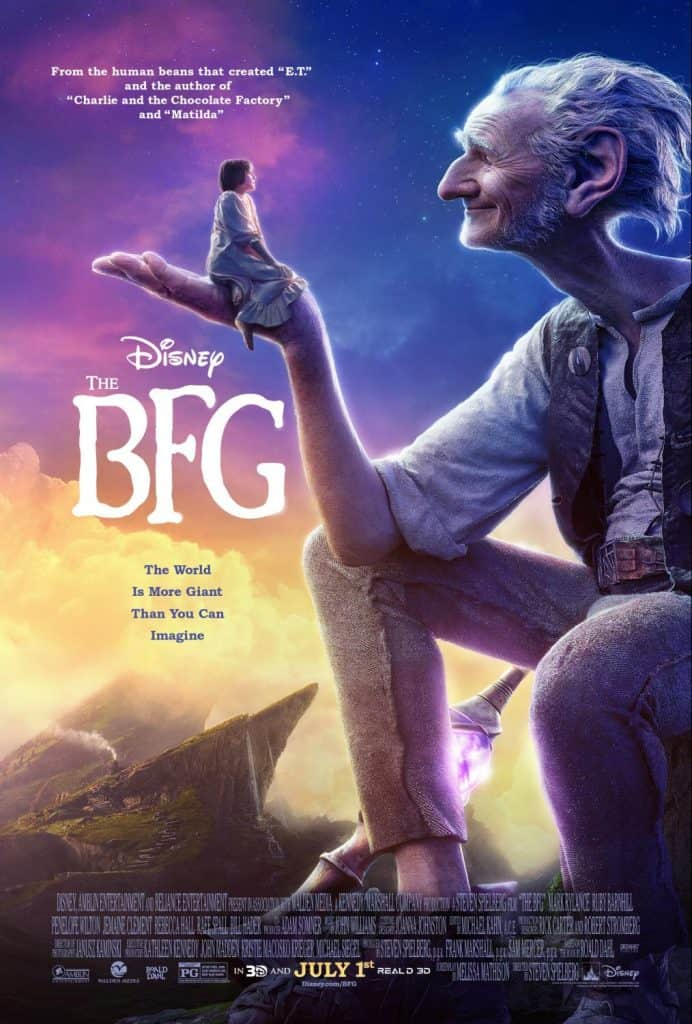 The BFG from Dreamworks
