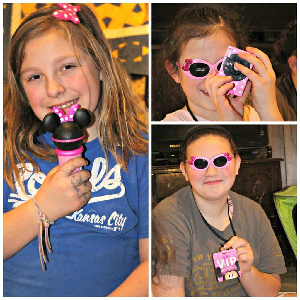 Popstar Minnie toy playsets