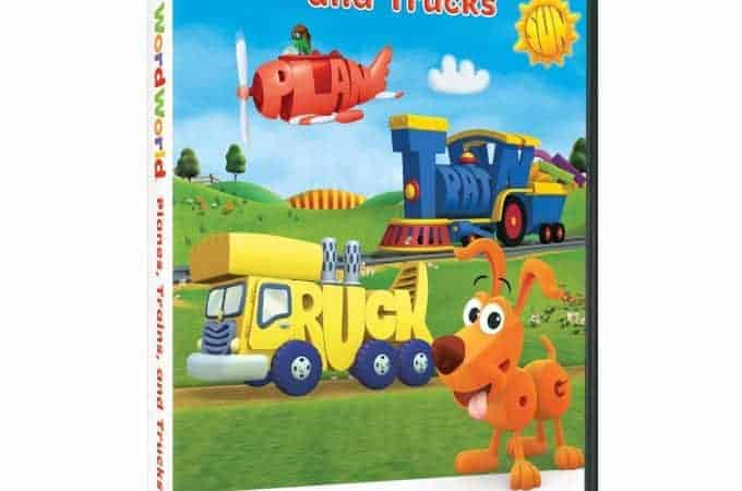 WordWorld Building Readers DVD