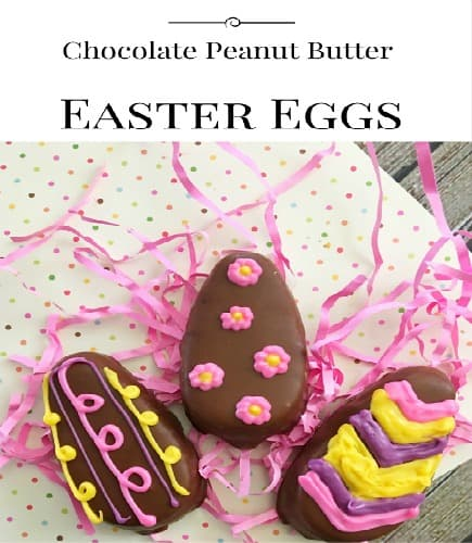 Chocolate Peanut Butter Easter Eggs | Life with Heidi