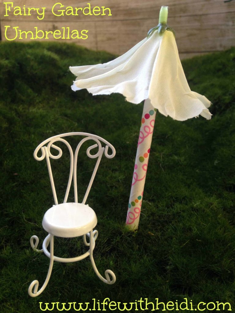 Fairy Garden Umbrellas