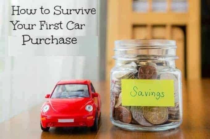 How to Survive Your First Car Purchase