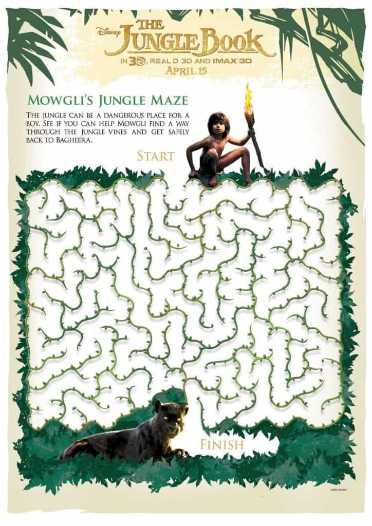 Mowgli Jungle Maze