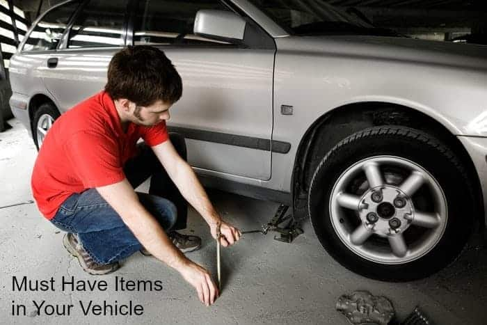 Must Have Items in Your Vehicle