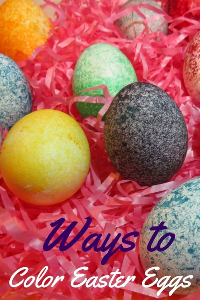 Ways to Color Easter Eggs