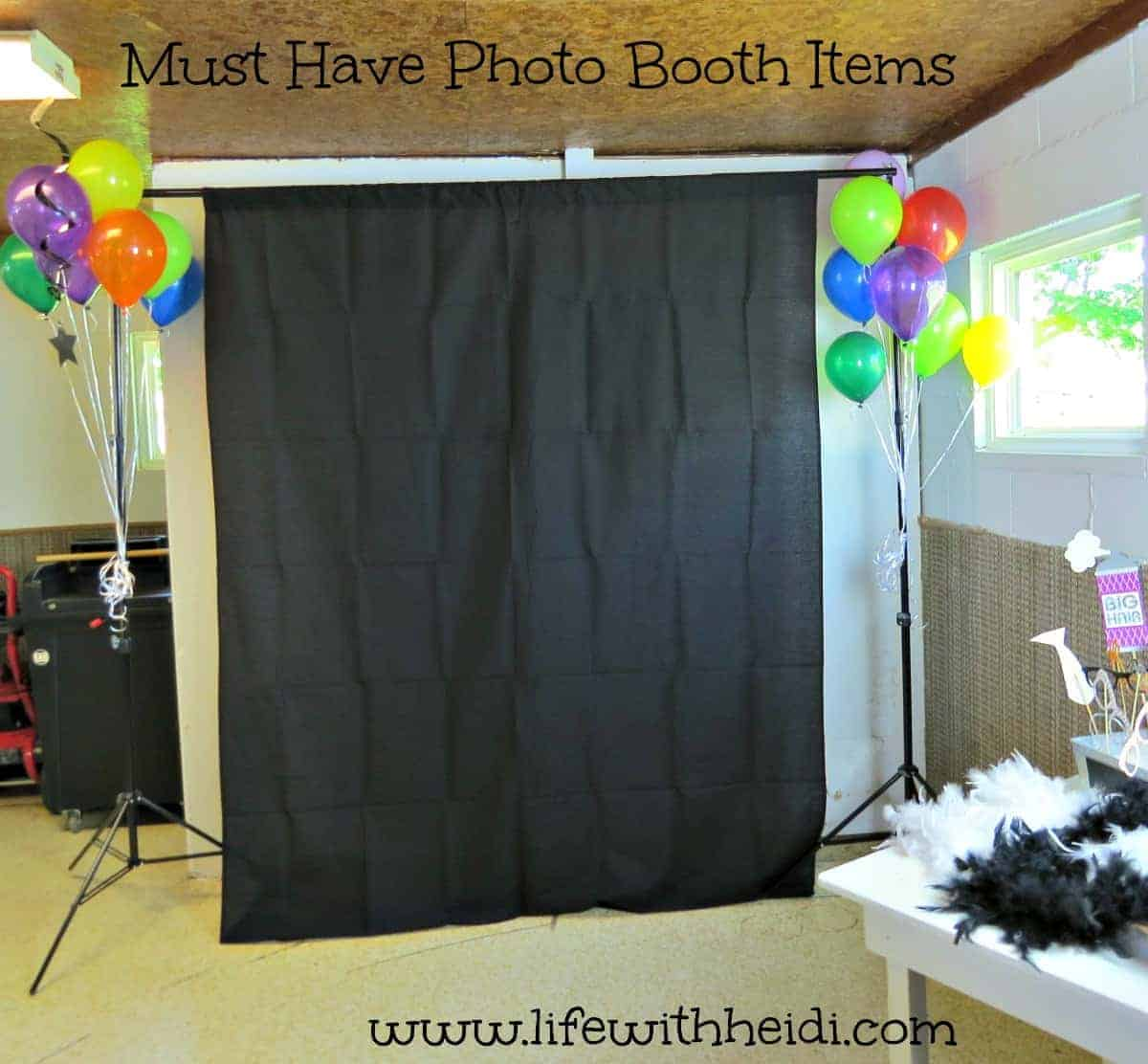 Must Have Photo Booth Items