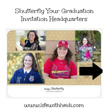 Shutterfly Your Graduation Invitation Headquarters Life With Heidi