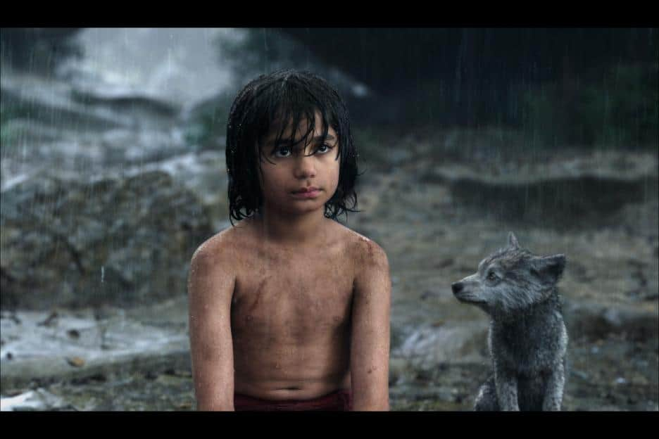 Neel Sethi who plays Mowgli, the only live action character in the film!