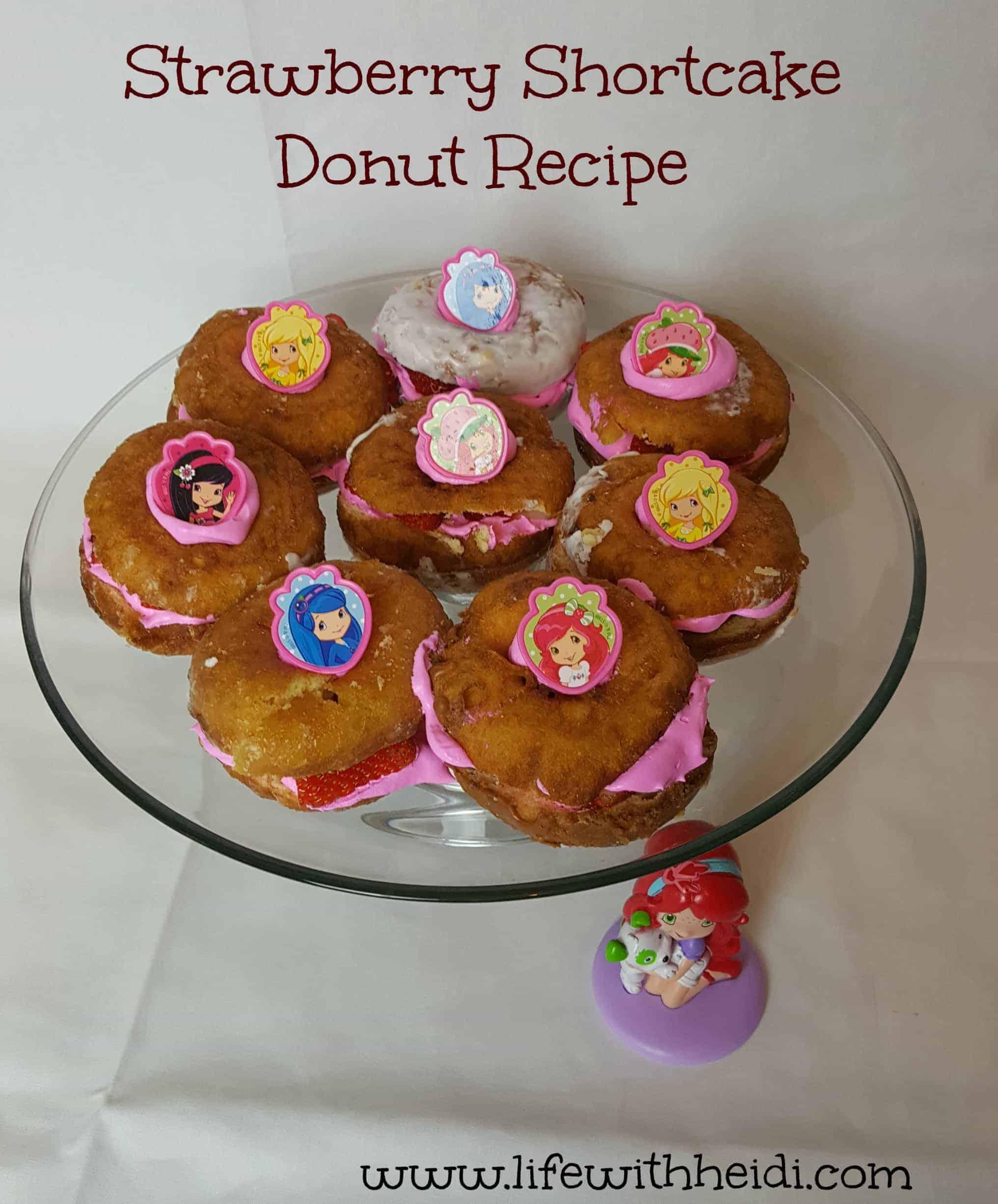 Shortcake Donut Recipe