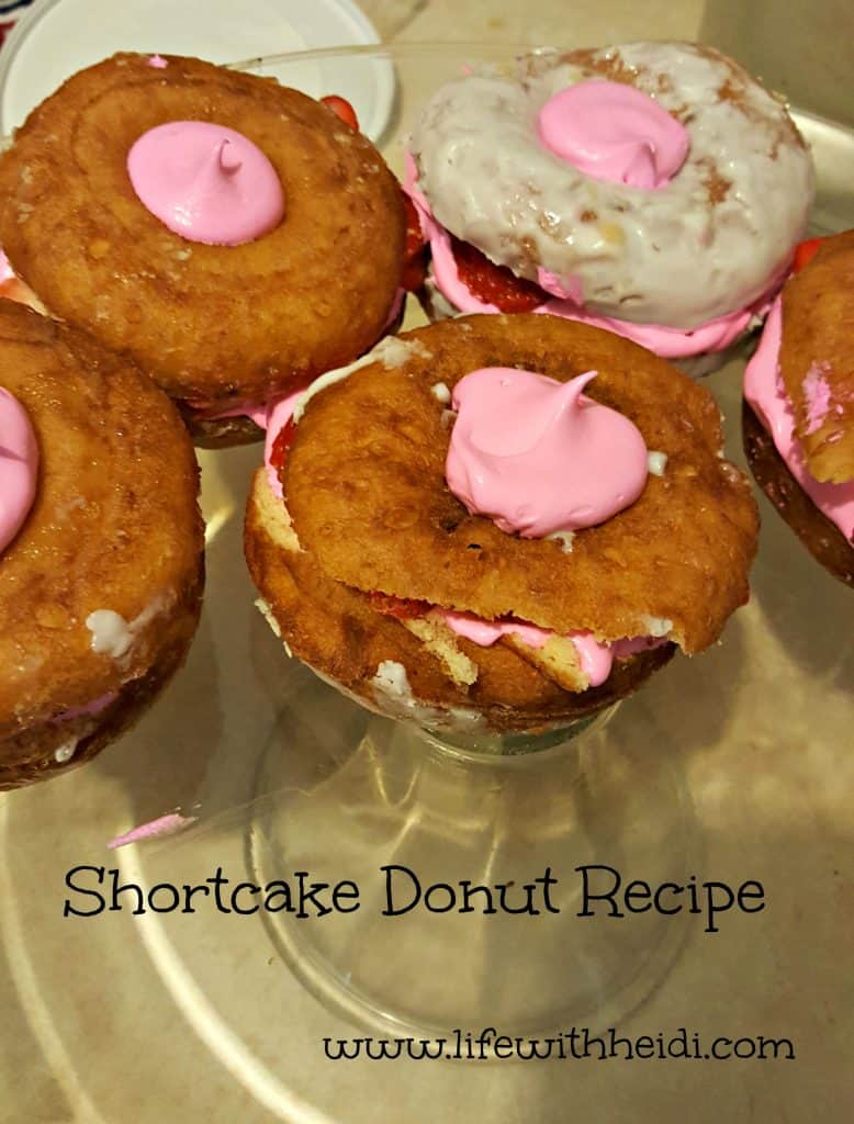 Shortcake Donut Recipe