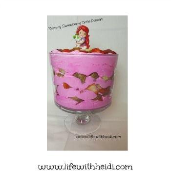 Strawberry Trifle Dessert