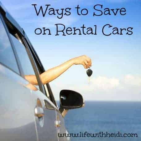 Ways to Save on Rental Cars