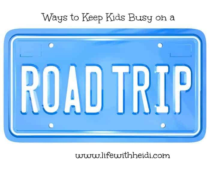 Ways to Keep Kids Busy on Road Trips