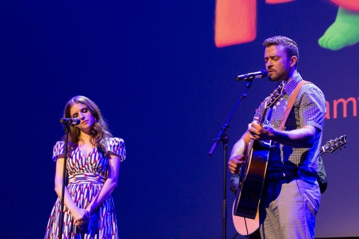 Justin Timberlake and Anna Kendrick Trolls