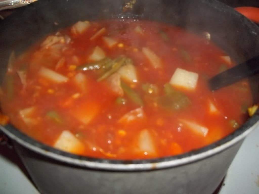 Nana's Vegetable Soup Recipe