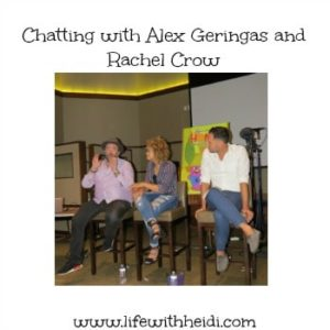 Chatting with Alex Geringas and Rachel Crow
