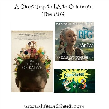 A Giant Trip to LA to Celebrate The BFG