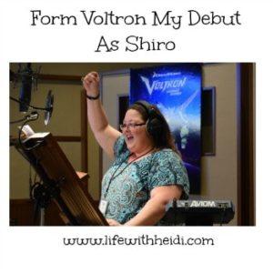 Form Voltron My Debut As Shiro