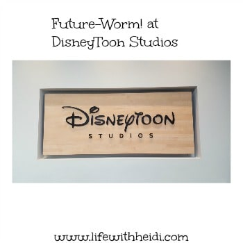 Future-Worm! at DisneyToon Studios