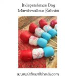 Independence Day Marshmallow Kabobs