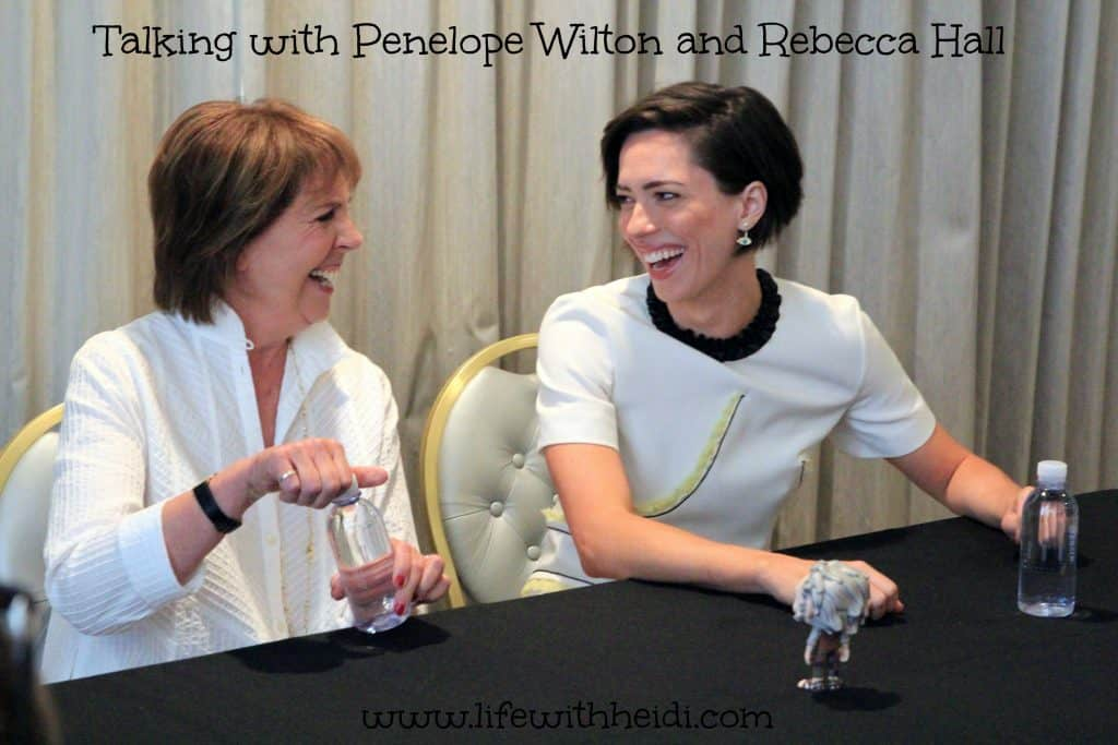 Talking with Penelope Wilton and Rebecca Hall