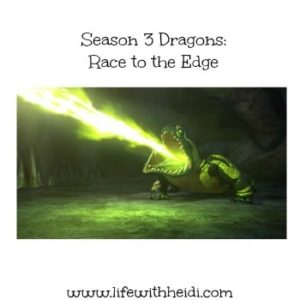 Season 3 Dragons: Race to the Edge