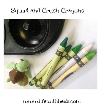 Squirt and Crush Crayons
