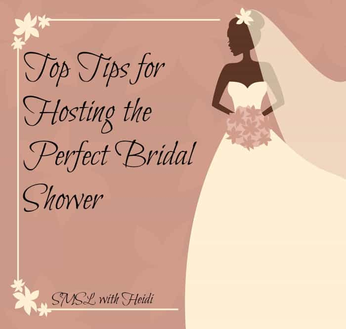 Top Tips for holding a Bridal Shower