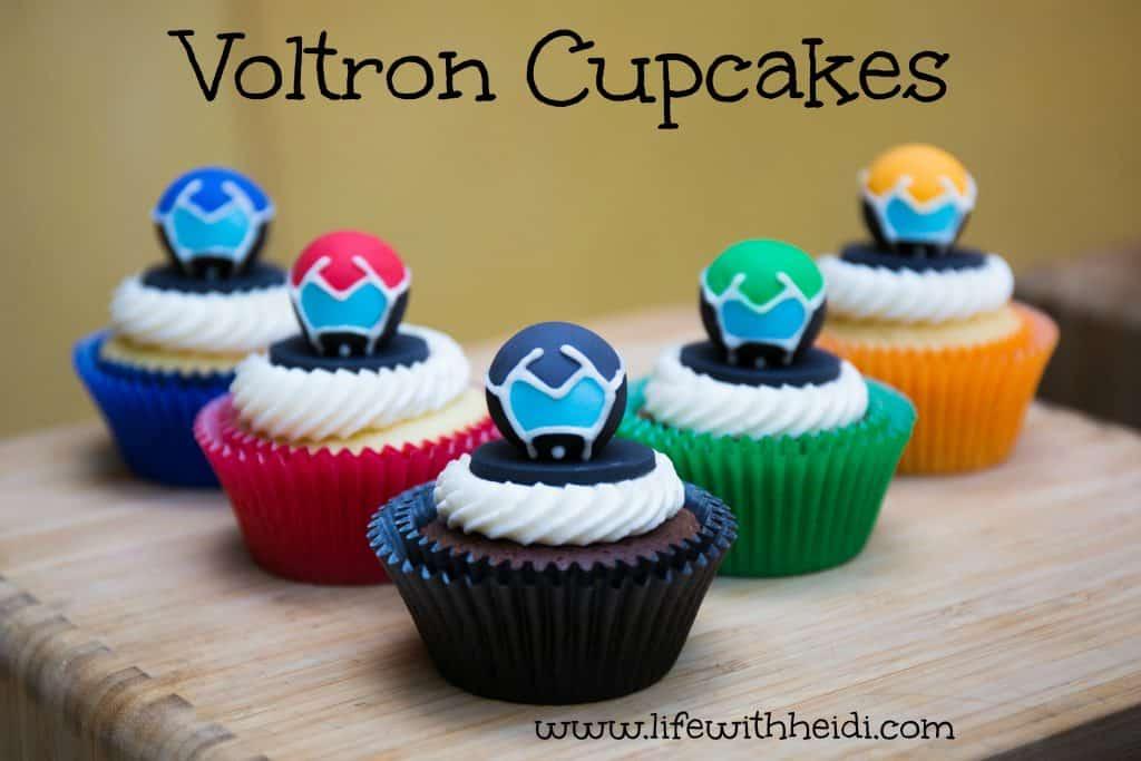 Voltron Cupcakes