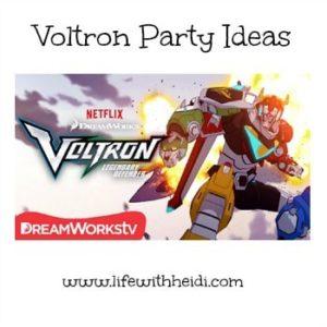 Voltron Party Ideas