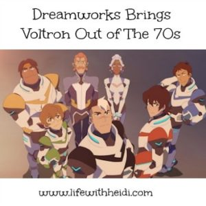 Dreamworks Brings Voltron Out of The 80s