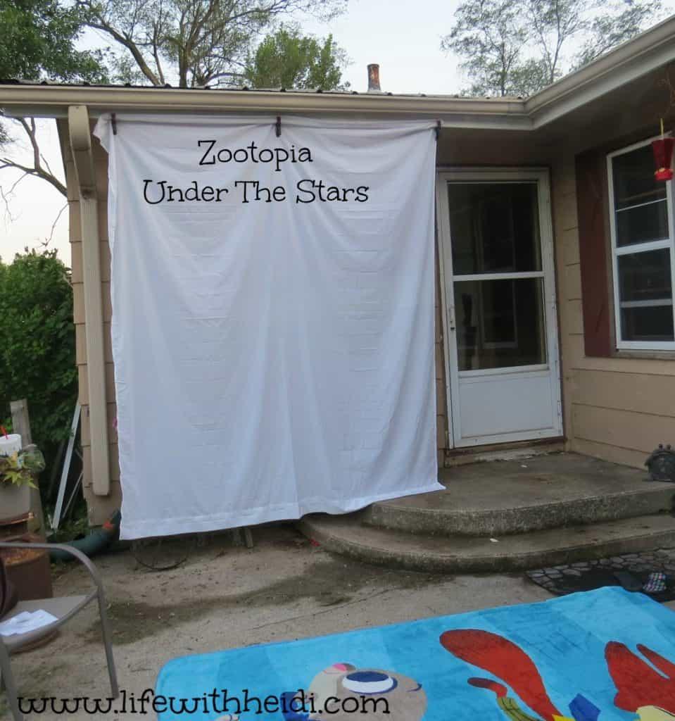 Zootopia Under The Stars