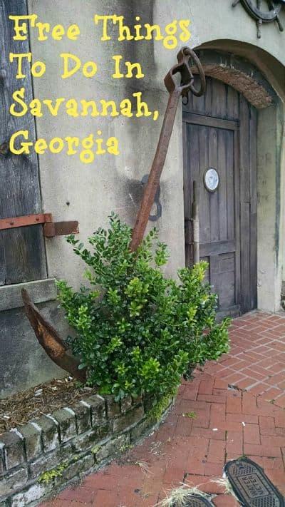 Free Things In Savannah