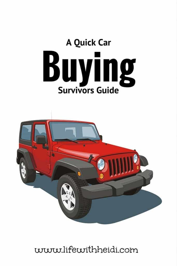 A Quick Car Buying Survivors Guide
