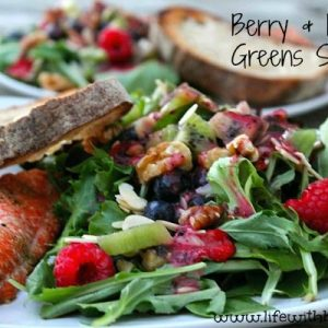 Berry and Baby Green Salad