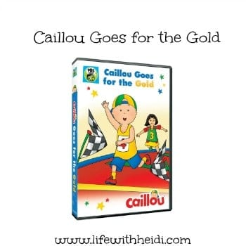 Caillou Goes for the Gold
