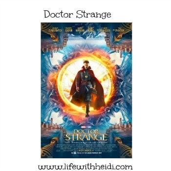 Doctor Strange Coming 11/4/16