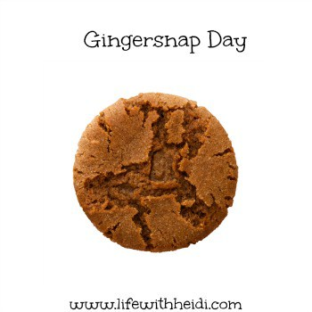 Gingersnap Day