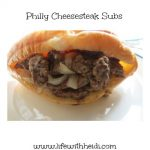 Philly Cheesesteak Subs