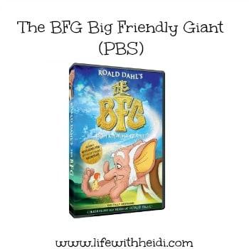 The BFG Big Friendly Giant (PBS)