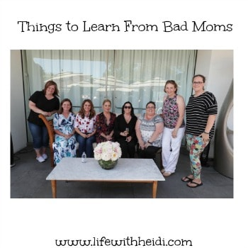 Things to Learn From Bad Moms