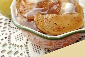 Baked Apple Sundae