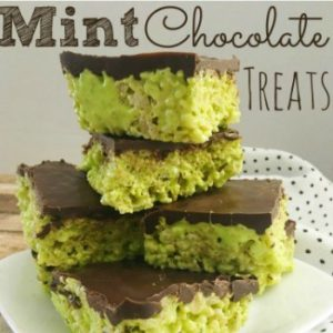 Mint Chocolate Treats
